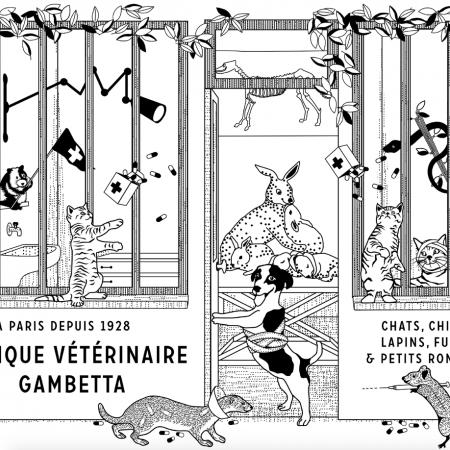 Clinique vétérinaire Gambetta, clinique vétérinaire à Paris 20ème